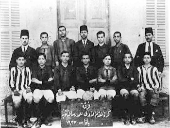 Jaffa high school soccer team